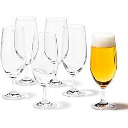 Copas de cerveza (6 unidades) - Leonardo 35239 Daily -