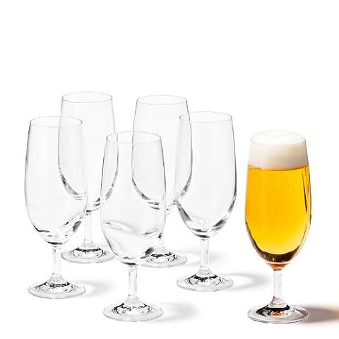 Leonardo 35239 Set de 6 Verres à Bière 350 ml
