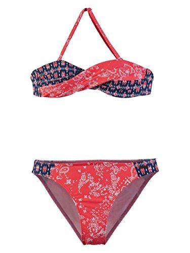 Protest Eesha JR Bandeau Bikini Pink Flirt 152 Flirt Shorts