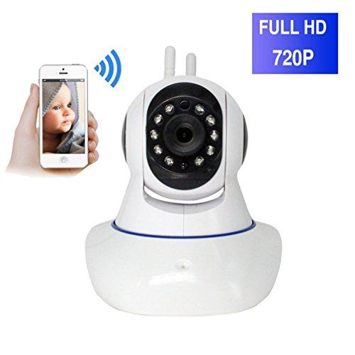 ShengyaoHul Voix Bidirectionnelle Surveillance Caméra, 720P HD Indoor Système De Sécurité Ip Home Camera, Moniteur Vidéo Pour Bébé Affichage À Distance / Wireless HD