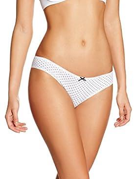 Iris & Lilly Damen Brazilian Slip Cotton 3er Pack
