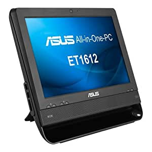 ASUS ET1612IUTS-B003C 15.6-inch LED All-In-One Desktop PC (Intel Celeron 847 1.10GHz, 2GB RAM, 320GB HDD, Touch Screen, USB 3.0, HDMI, VGA, 2 x COM, Windows 7 Home Premium)