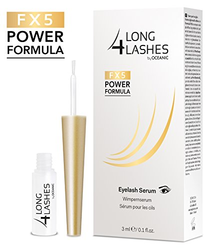 Long4Lashes FX5 Power Formula Wimpernserum 3ml by Oceanic | NEUE FORMEL