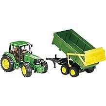 Bruder 2058 - Tractor John Deere con remolque