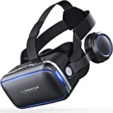 Hot Sales New Shinecon VR Google Box VR Box with Headphones VR Virtual Reality 3d Glasses for 4.5 -6.0 Inch Smartphone