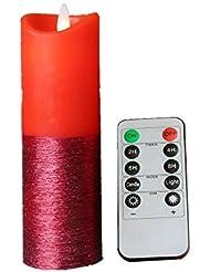 Télécommande Ready 17,3cm sans flamme Bougie–Real Bougie vacillante Motion–déménagement Wick Bougie