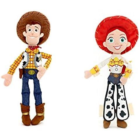 Ensemble de 2 pièces : Disney-Toy Story-Woody : Mini - 12 cm en peluche Mini peluche et Jessie 11