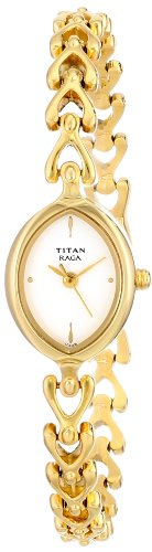3. Titan Raga Analog White Dial Women's Watch