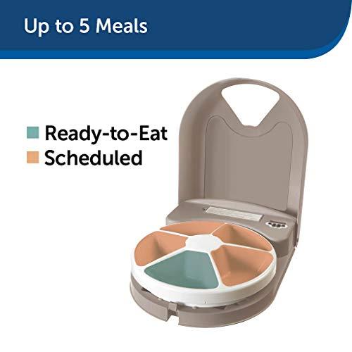 PetSafe Futterreservoir für 5 Mahlzeiten mit Zeitschaltuhr - 3
