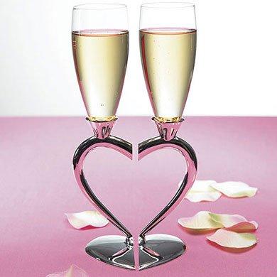 Flutes per brindisi sposi (Brindisi Sposa Sposo)