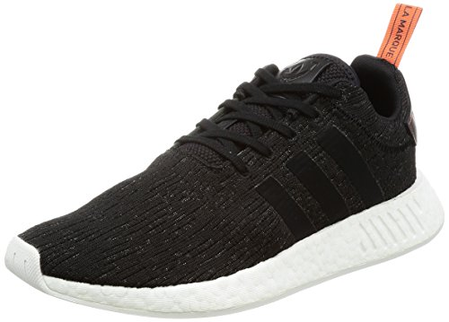 adidas Nmd_R2, Herren Sneaker, schwarz (Negbas / Negbas / Cosfut), 42 EU