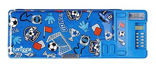Smiggle woah pop Out-Bleistift-Kasten-blau - Mini-bleistift-kasten