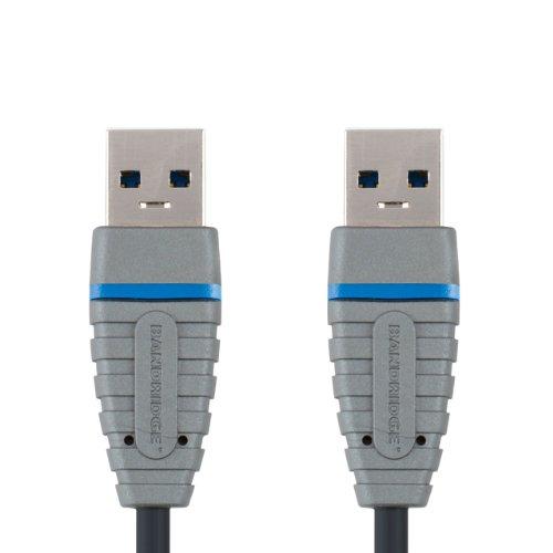 Bandridge 1m SuperSpeed USB 3.0Gerät A-A Kabel