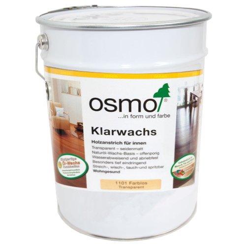 Osmo Klarwachs 1101 Farblos 25 Liter Gebinde