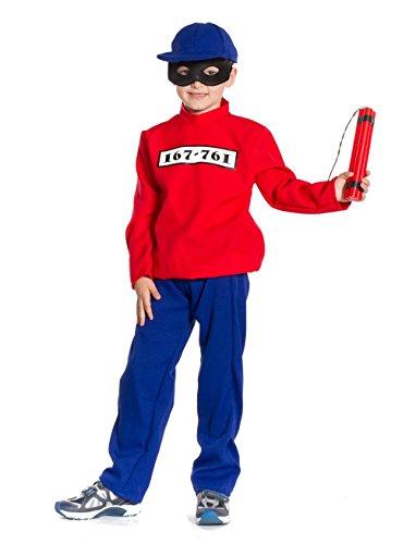 Safeknacker Kinder 2-tlg. 116 (Baseball-handschuh-rot-blau)
