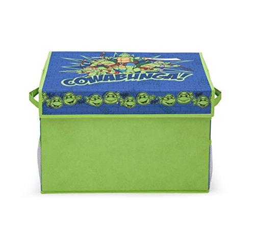 Delta niños caja de juguetes de tela con bolsillos de las Tortugas Ninja