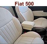Filocar Design Bracciolo Fiat 500 in Pelle Crema Riva