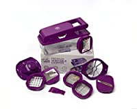 Premium Vegetable and Fruit Chopper, Multifunctional Slicer, Grater and Dicer