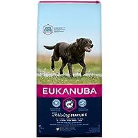 Eukanuba Mature Trockenfutter für große Rassen/Hundefutter mit neuer und verbesserter Rezeptur für reife Hunde von 6-9 Jahren in der Geschmacksrichtung Huhn/1 x 15kg Beutel