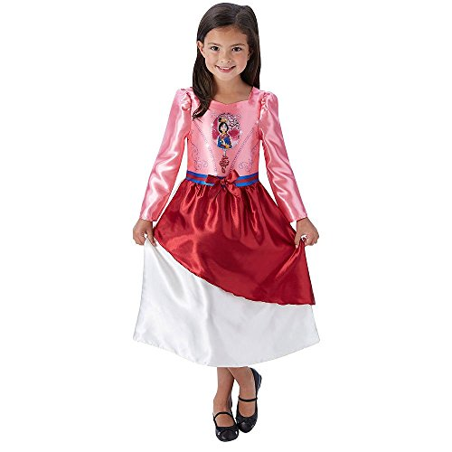 Girl 's Disney Princess Märchen Mulan Kostüm - Medium ()