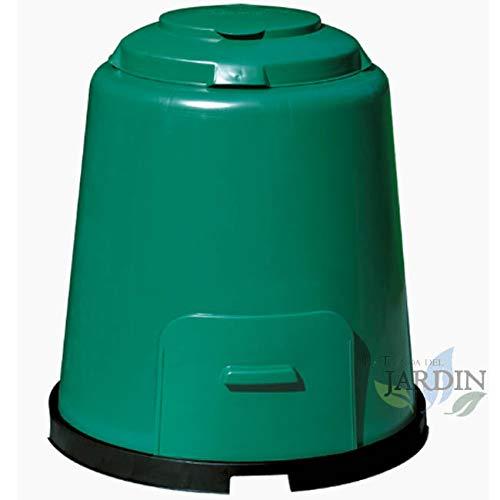 « Supervents » Composante de jardin haute qualité 280 litres 80 x 80 x 89 cm. Rempli d'une seule main à travers le double couvercle, facile et pratique.