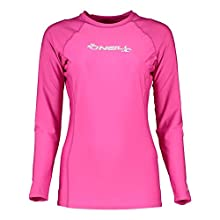 O'Neill Wetsuits Wms Basic L/S Crew Muta da Donna, Protezione UV
