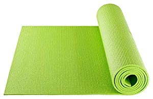 BODYMATE Yogamatte Universal Apfel-Grün - Größe 183x61cm - Dicke 5mm -...
