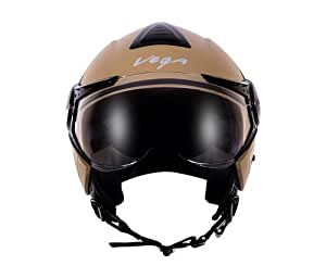 Vega Verve Open Face Helmet (Women's, Dull Desert Storm, M)