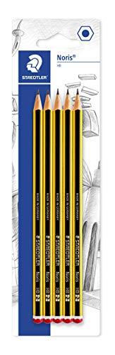 Staedtler Noris - Lápiz (HB, 5 unidades)