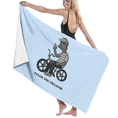 FSTGFFST Tyler The Creator Strandtücher Ultra saugfähig Mikrofaser Badetuch Picknickmatte für Männer Frauen Kinder
