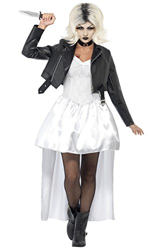 Kostüm Killer Doll - Ladies Smiffy's Bride Of Chucky Killer Doll Halloween Costume