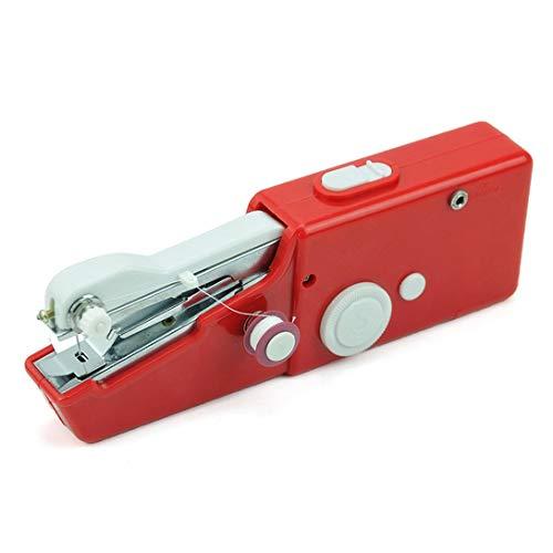 Swiftswan Tragbare Mini-Handnähmaschinen Stich Nähen Hand Schnurlose Bekleidungsstoffe Elektrische Nähmaschine Stitch Set