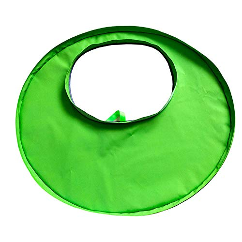Bclaer72 Ensemble Bavoir et Plateau Tout-en-Un, Couvre-Matelas Unisexe Taille Unique pour bébé, Chaise Haute, Set de Table pour Enfant imperméable(Green)