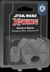 Fantasy Flight Games FFGSWZ10 Star Wars X-Wing: Kit de Mejora de dial de maniobra Imperio galáctico