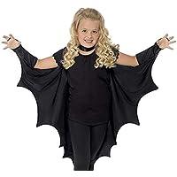 RivenDell Traje de murciélago de Cosplay de Halloween, Ropa de Disfraces para niños, Vestimenta de Teatro de Escuela, Trajes de Ropa