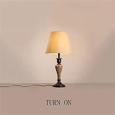 MI TIME salle de mariage Salle den nightstand chambre décor minimaliste lampe européenne de table American Retro