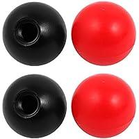 sourcingmap® 4pcs Pomo Perilla de Manija de Bola de Plástico de Rosca M12 40mm Diámetro Color Surtido