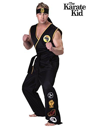 41Ni6rsr2dL - Disfraz hombre Cobra Kai talla XXL