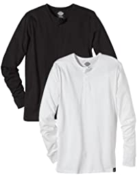Dickies Seibert Men's Henley Shirt Pack of 2