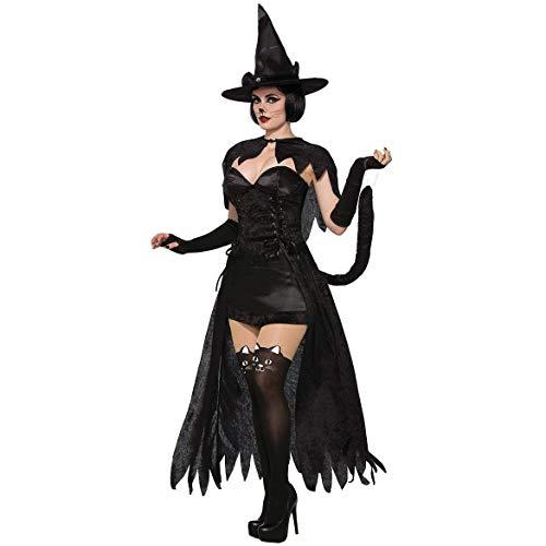 4197de0baf2f LVLUOYE Cosplay Signore del Costume di Halloween Sexy Mantello della Regina  del Diavolo Strega Costume,