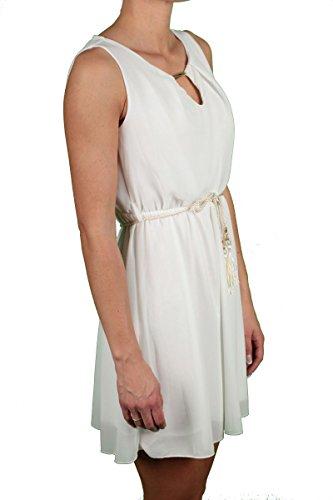 Hailys - Robe - Uni - Femme blanc Blanc crème Blanc crème