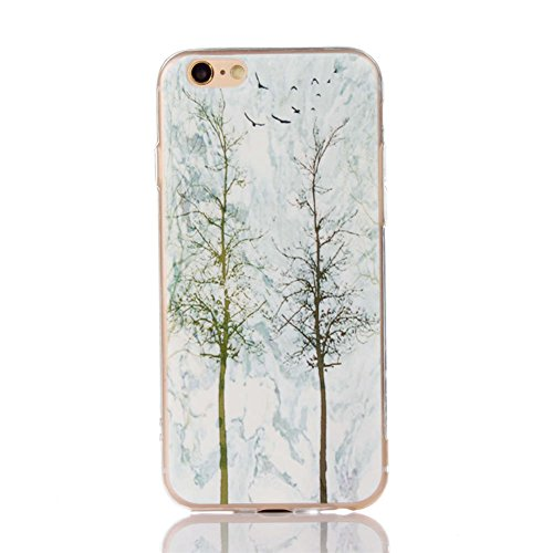 Landee TPU Housse Silicone Étui Marbling Coque pour iPhone 6S & iPhone 6 Coque (6S-T-209) 6S-T-203