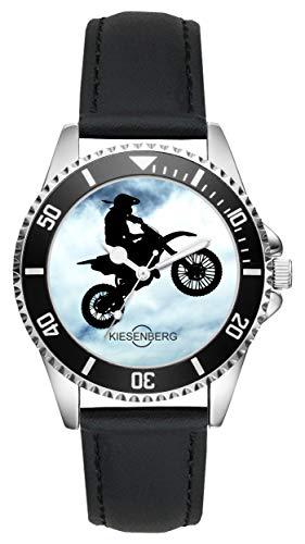 Enduro Motocross MTB Motorrad Fans Fahrer Kiesenberg Uhr L-2096