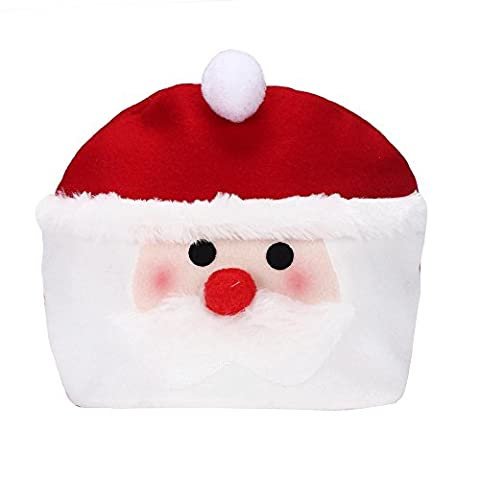 Tonsee® Chapeau de Noël Cozy douce et chaude de Santa