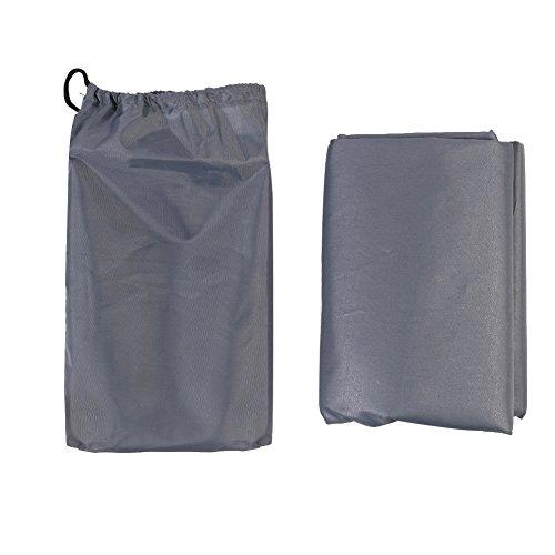 Candora TM impermeabile leggero Outdoor Campeggio/Picnic/Spiaggia Coperta con cordoncino borsa di trasporto, 4paletti - Pink Ribbon Dog Tag
