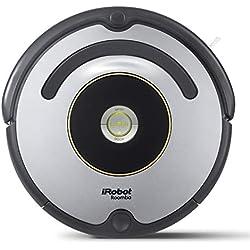 iRobot Roomba 615, Aspirateur Robot pour Tapis et Sols Durs, Capteurs de Poussière Dirt Detect, Système de Nettoyage en 3 Étapes