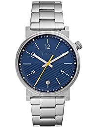 Fossil Herren Analog Quarz Uhr mit Edelstahl Armband FS5509