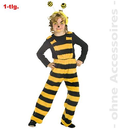 Biene Bienchen Hose Latzhose Tier Kinder Kostüm Gr 140 (Bienen-kostüm Für Jungen)