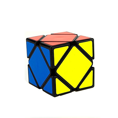 Moyu Yongjun Skewb Speed Cube Puzzle, Negro