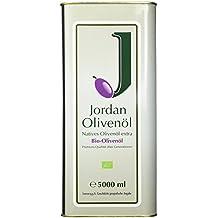 Jordan Olivenöl Natives BIO - extra - 5,00L Kanister, 1er Pack (1 x 5 l)